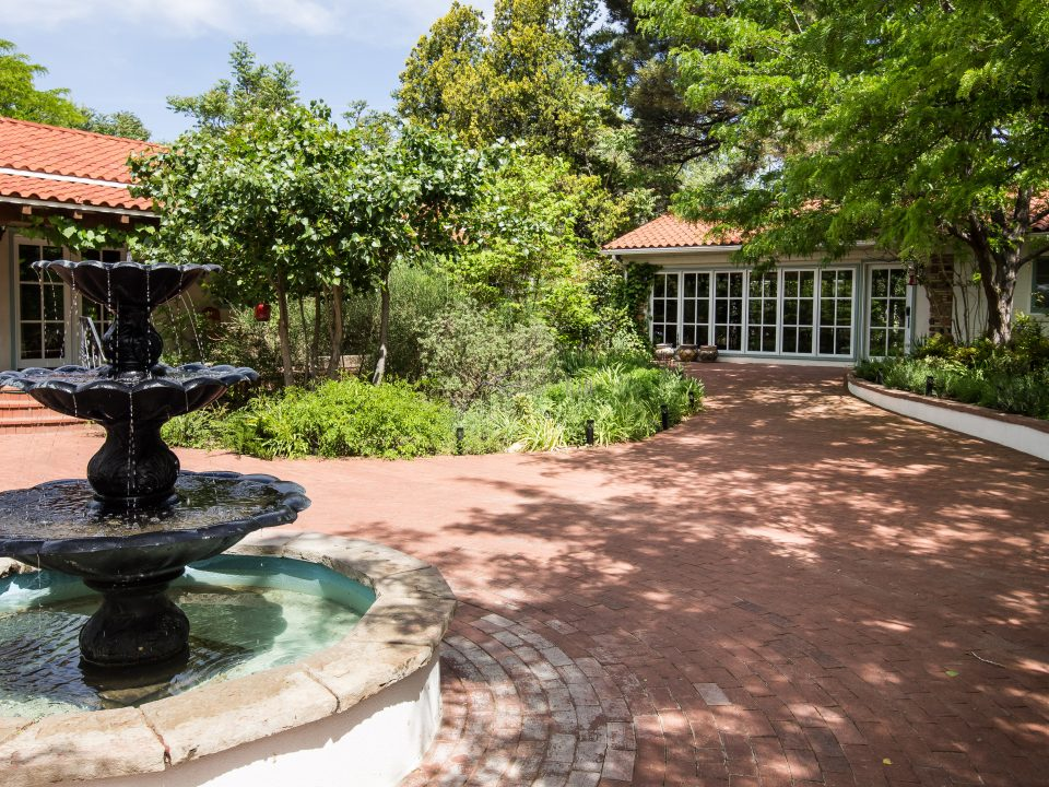 Casa Blanca Inn Courtyard Fountain